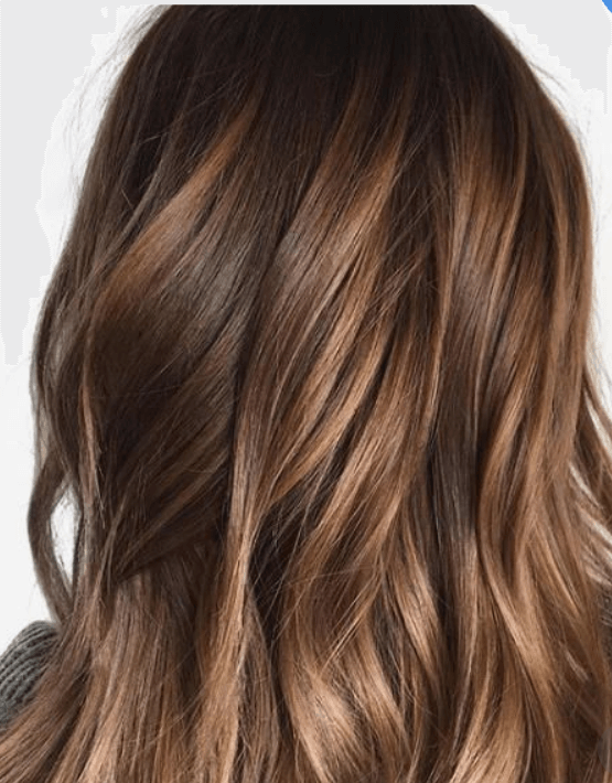 Best hair colour ideas - honey brown hair colour