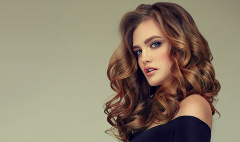 Voluminous Curl Hairstyle for New Year