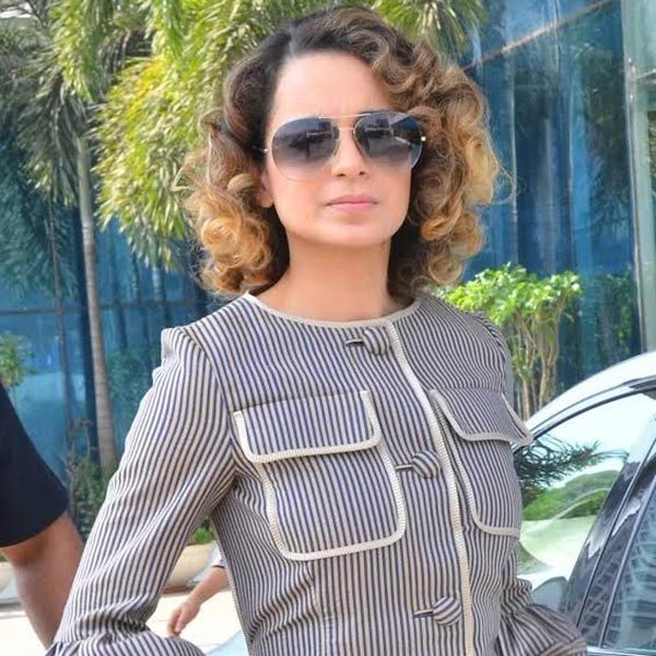 kangana Channelling the look at 40s