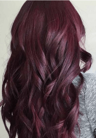 mulled wine hair colour
