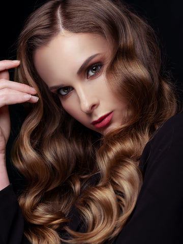 Brushed-Out waves Christmas Hairstyle