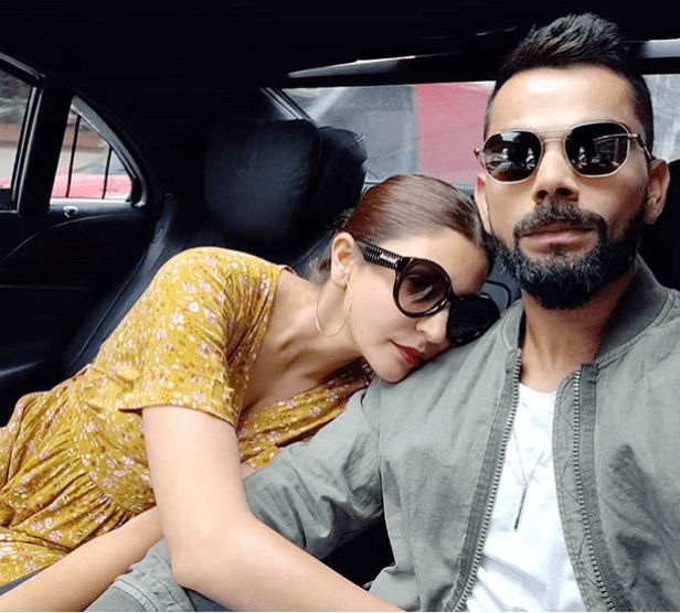virat kohli and anushka sharma hairstyles