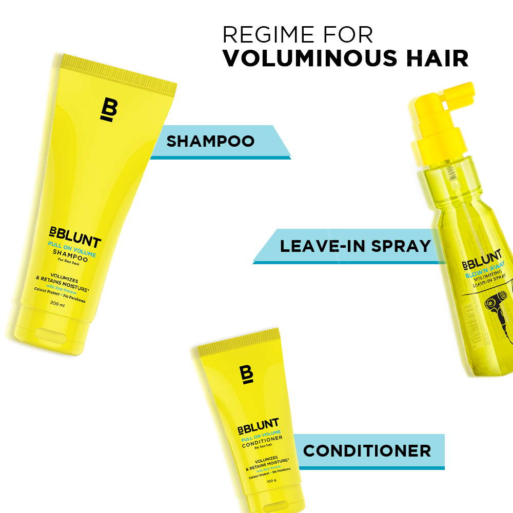 Full On Volume Conditioner For Thin Hair 100g - BBLUNT