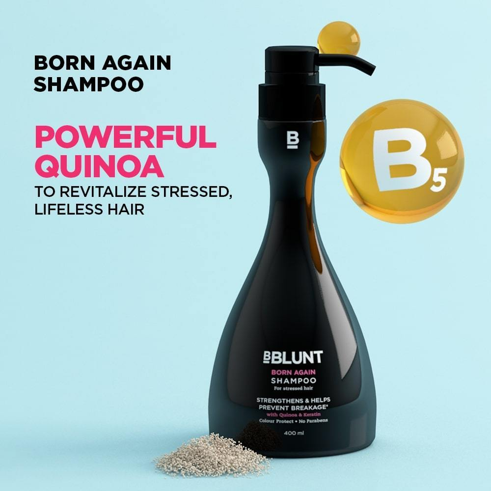 Born Again Shampoo 400ml