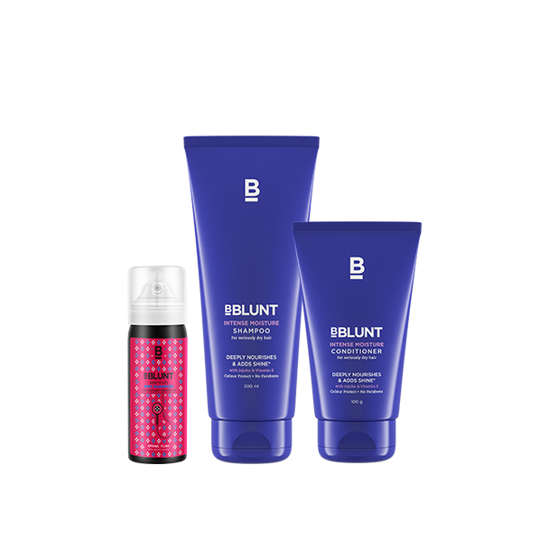 Intense Moisture Duo + Back To Life Dry Shampoo - BBLUNT