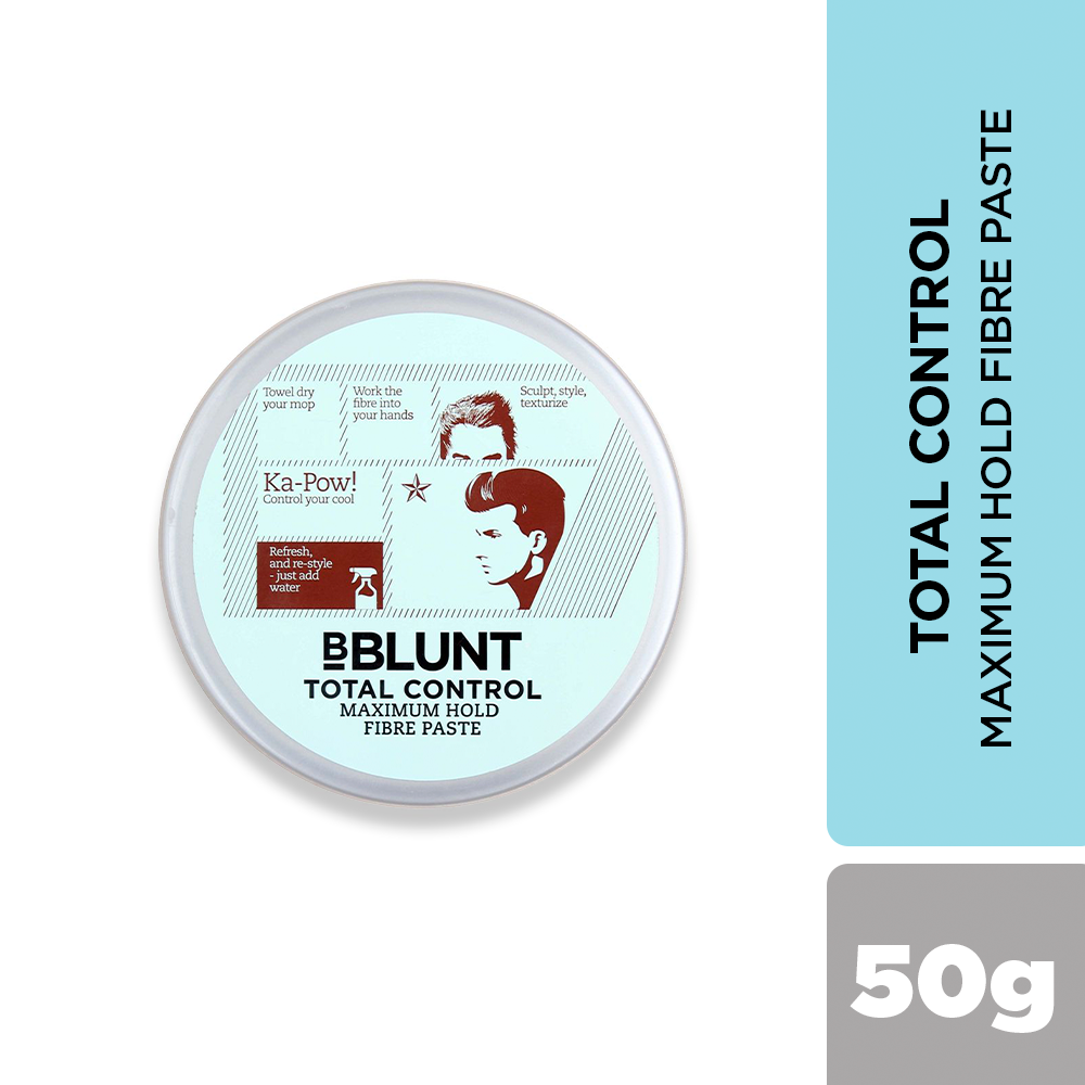BBLUNT Total Control Maximum Hold Fibre Paste 50g - BBLUNT