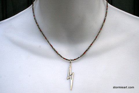 Bolt Lightning Necklace