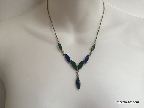 Vintage V Necklace