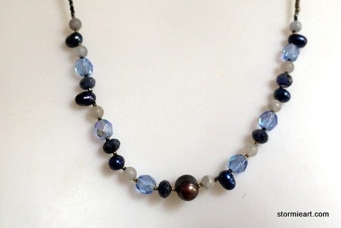 Blu Ray Necklace