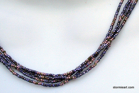 Purple Layer Necklace