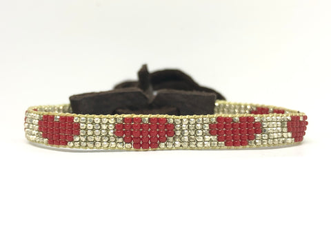 Stone of Love Ruby Bracelet