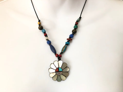 Native Sun God Necklace