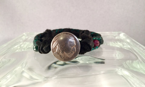 Emerald Seeds of Life Bracelet