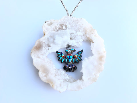 Thunderbird Crystal Necklace