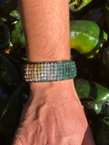 Perfect Agate Vegan Bracelet