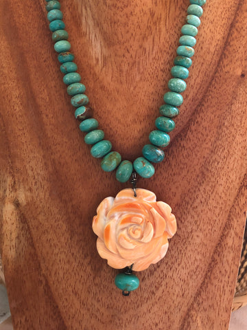 A Rose Without Thorns Necklace