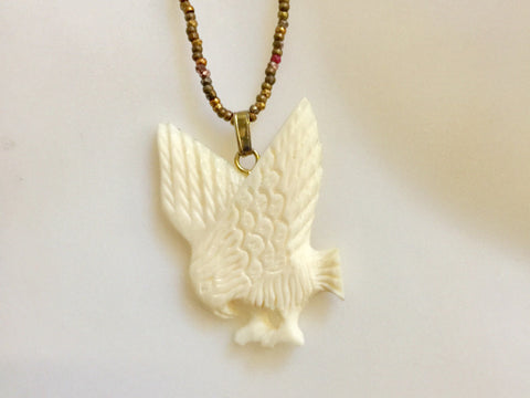 Above Eagle Necklace