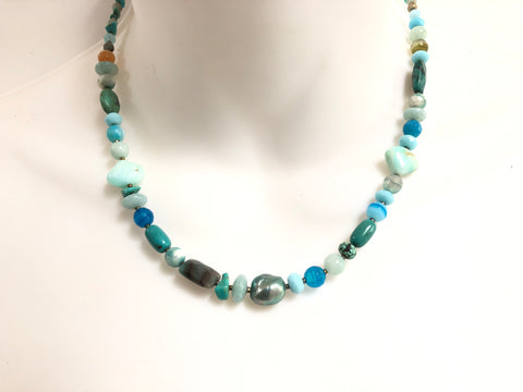 Loyal Blue Necklace