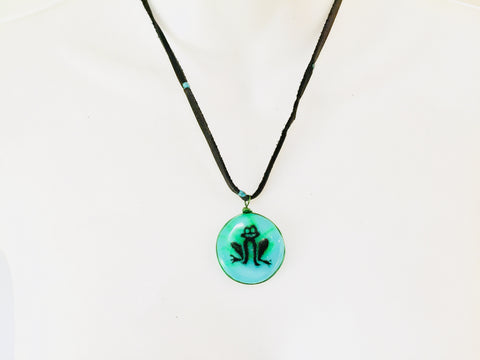 Spirit Frog Necklace