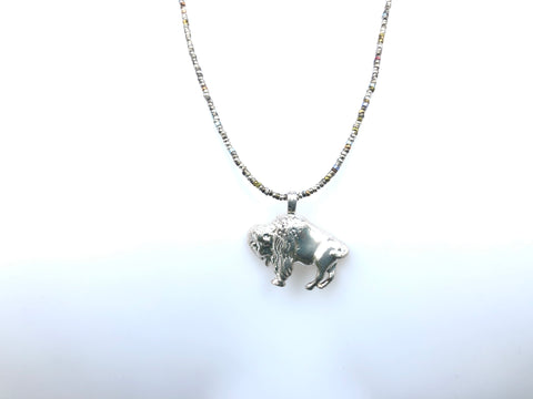 Bison Necklace