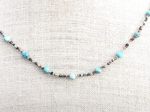 Charming Turquoise Necklace