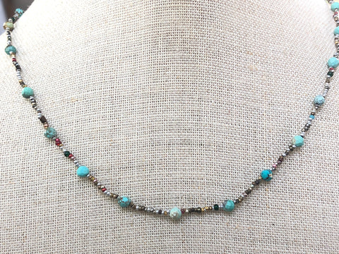 Turquoise Protection Necklace