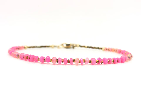 Rose Quartz Vegan Bracelet