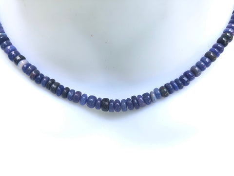 Purple Crystal Necklace