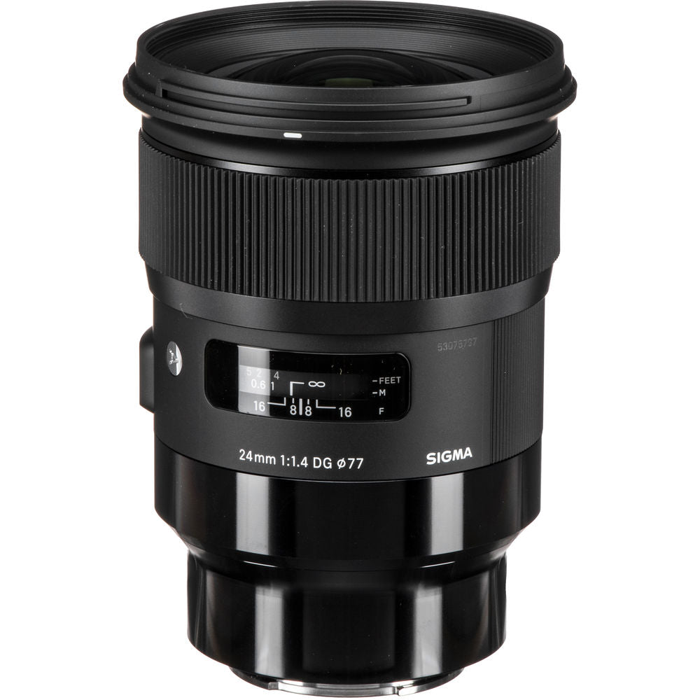 Sigma 24mm f/1.4 DG HSM Art Lens for Leica L & Sony E