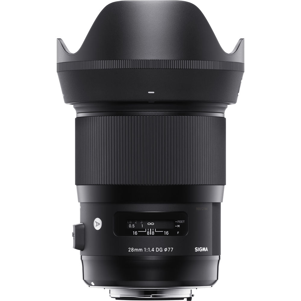 Sigma 28mm f/1.4 DG HSM Art Lens for Leica L & Sony E