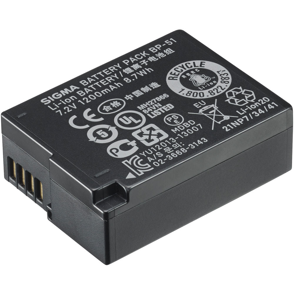 Sigma BP-51 Lithium-Ion Battery