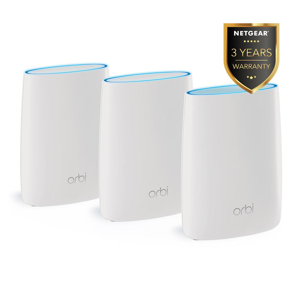 Netgear Orbi AC3000 Tri-band WiFi System Router (RBK53)
