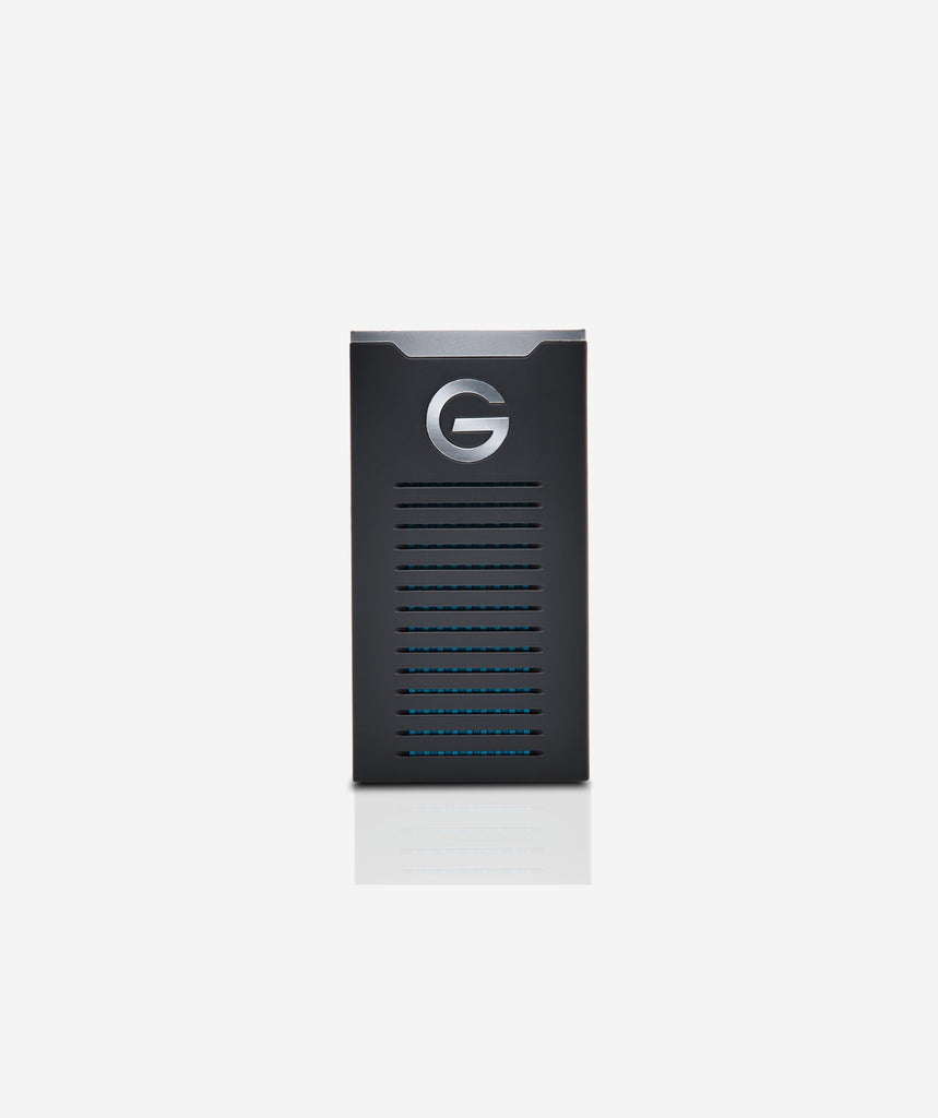 G-Technology G-DRIVE Mobile SSD Portable, 500GB / 1TB / 2TB, 0G0605X - gears-of-future-gfx