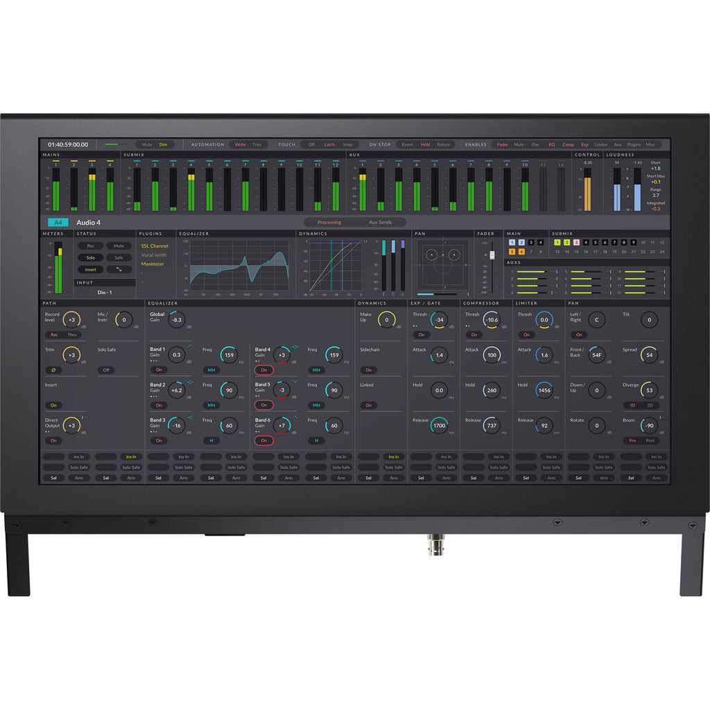 Blackmagic Fairlight Console LCD Monitor - gears-of-future-gfx