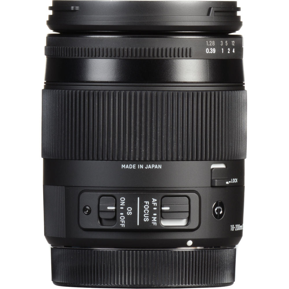 Sigma 18-200mm f/3.5-6.3 DC Macro HSM Contemporary Lens