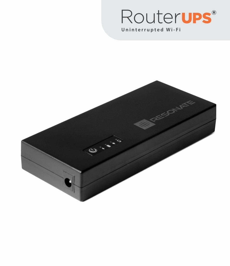 RESONATE RouterUPS CRU12V3A Power Backup for WiFi Router