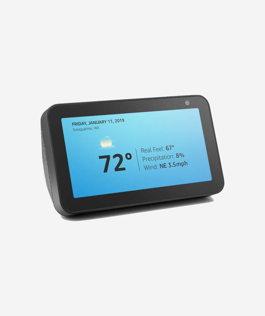"Amazon Echo Show 5 - See and do more with Alexa on 5.5"" screen - gears-of-future-gfx"