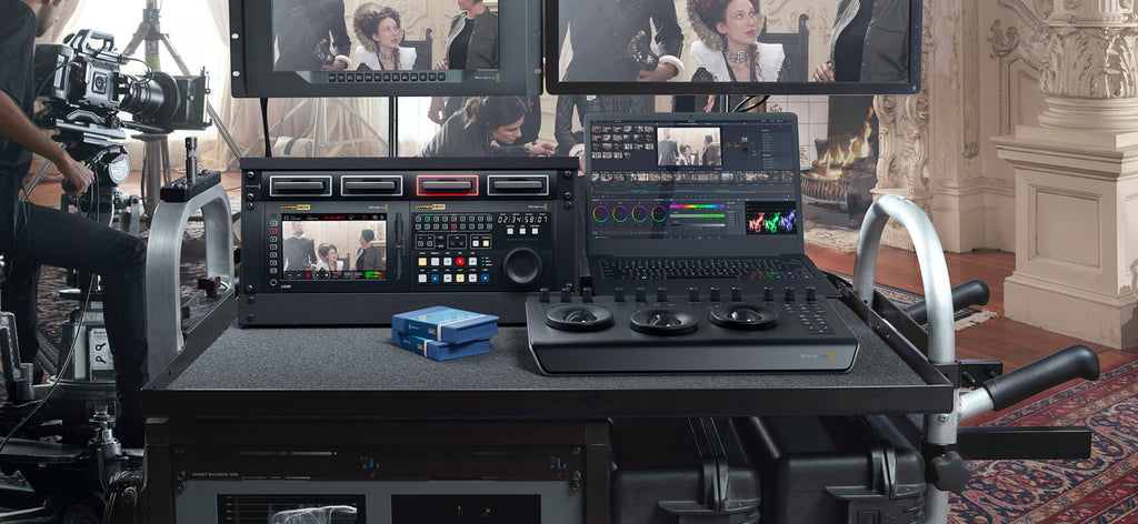 Blackmagic MultiDock 10G - gears-of-future-gfx