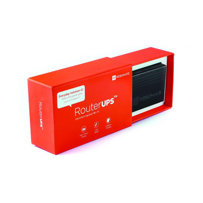 RESONATE RouterUPS CRU9V Power Backup for WiFi Router