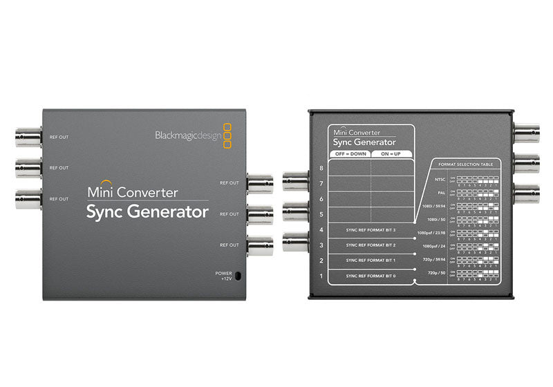 Blackmagic Mini Converter Sync Generator - gears-of-future-gfx
