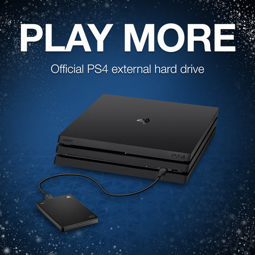 Seagate Game Drive for PS4 Systems 2TB External Port HDD, Officially Licensed Product (STGD2000200)
