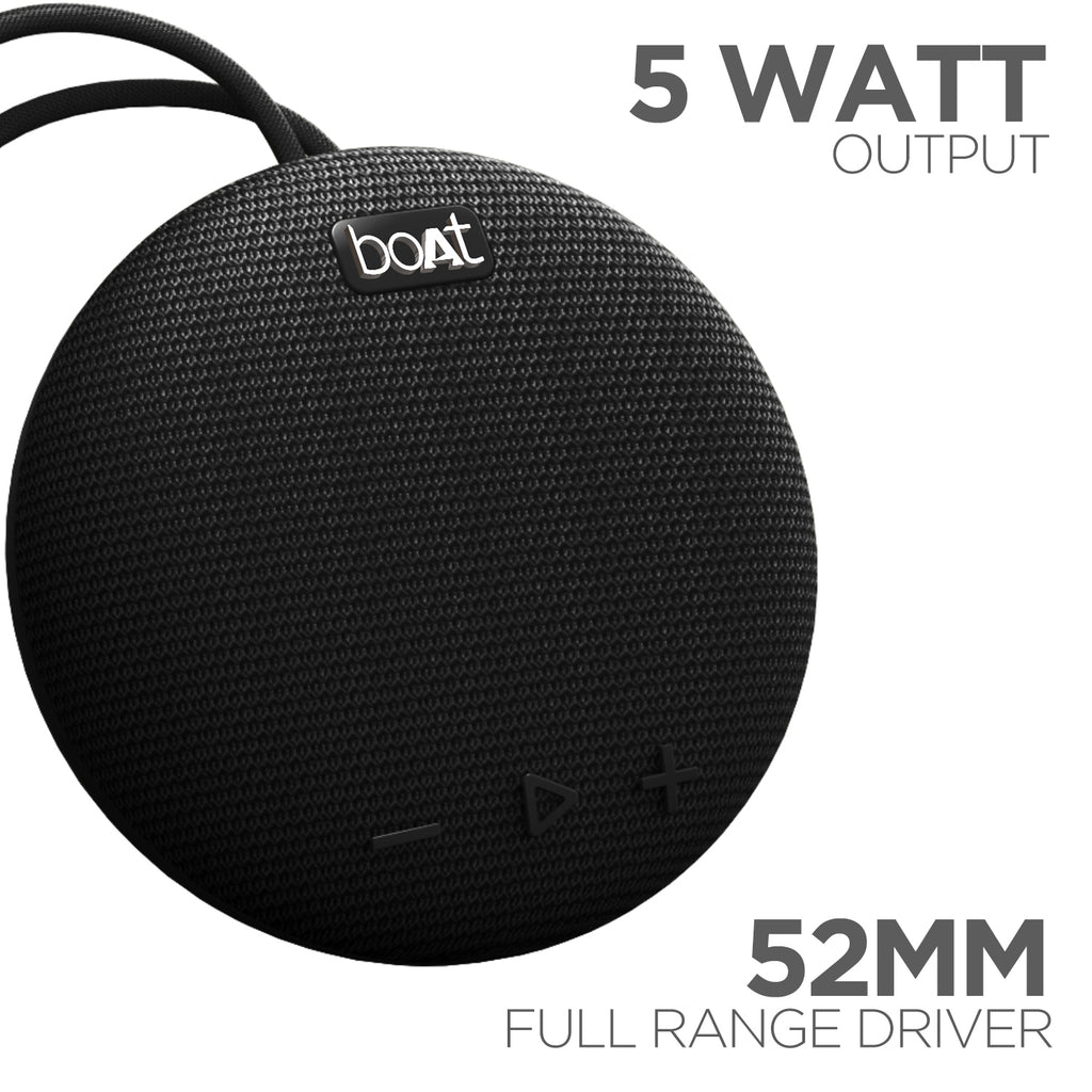 boAt Stone 190 Portable Wireless Speaker with 5W Premium Sound