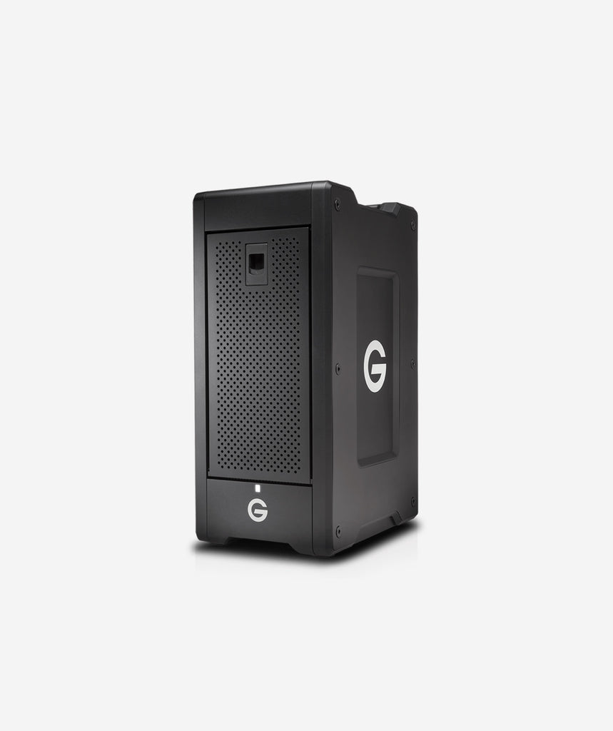G-Technology G-SPEED Shuttle XL with Thunderbolt 3 Desktop Hard Drive - gears-of-future-gfx