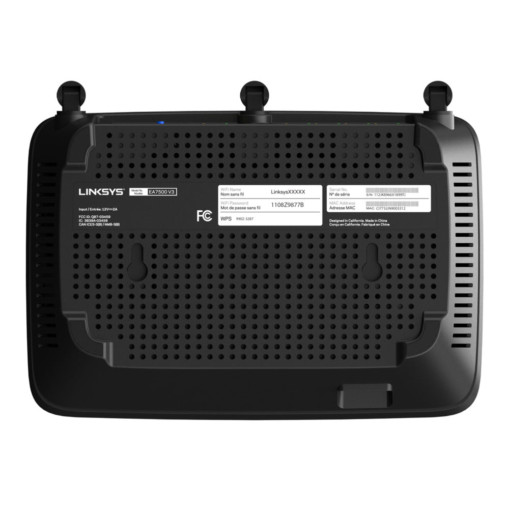 Linksys MAX-STREAM Dual-Band AC1900 WiFi 5 Router (EA7500S)
