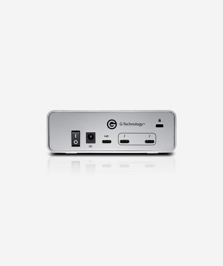 G-Technology G-DRIVE with Thunderbolt 3 External Hard Drive 0G053XX, 4TB-12TB - gears-of-future-gfx