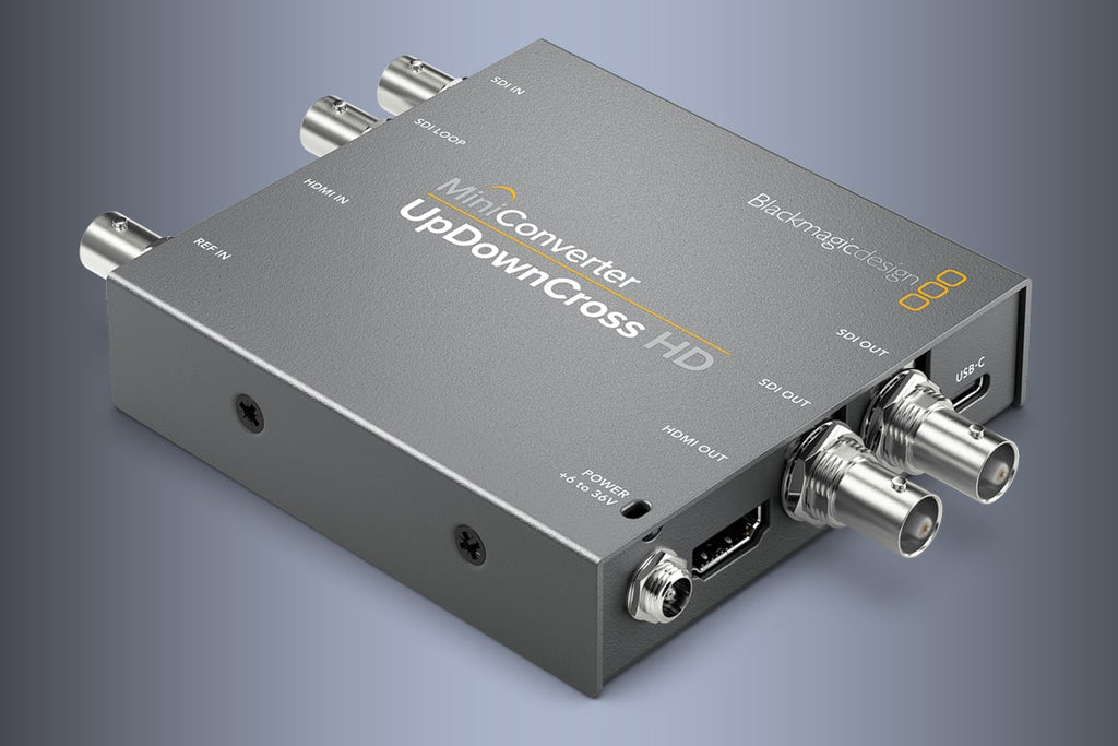 Blackmagic Mini Converter UpDownCross HD - gears-of-future-gfx
