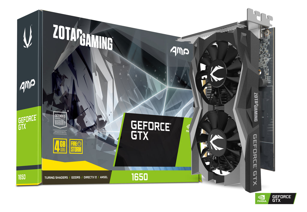 ZOTAC GAMING GeForce GTX 1650 AMP