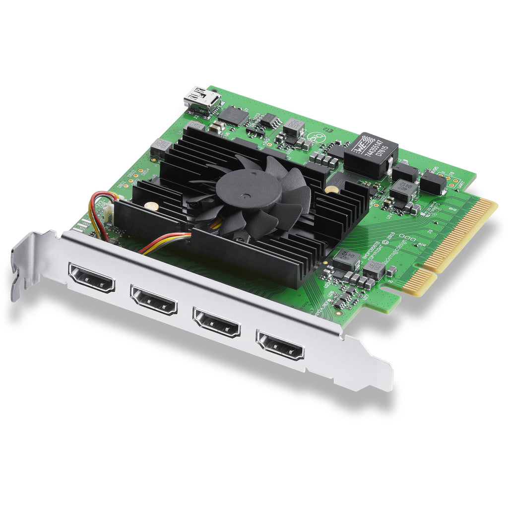 Blackmagic DeckLink Quad HDMI Recorder - gears-of-future-gfx