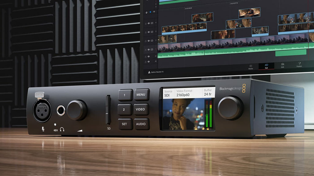 Blackmagic UltraStudio 4K Mini with Thunderbolt 3 - gears-of-future-gfx