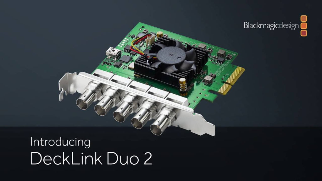 Blackmagic DeckLink Duo 2 - gears-of-future-gfx